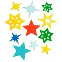 Pailletten Mix Sterne