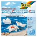 Origami-Faltblätter Aquapapier