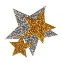 Moosgummi-Stanzteile – Sterne