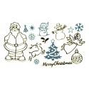 Ziersticker – Weihnachts-Sortiment