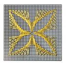 Motiv: Fadengrafik mit Goldschnur, Art.-Nr. 57 5000