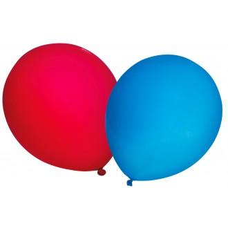 Luftballons für Fasching zum Basteln in Schule und Kindergarten