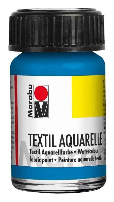 Bastelbedarf für Schule und Kindergarten - Marabu Textil Aquarelle Stoffmalfarben