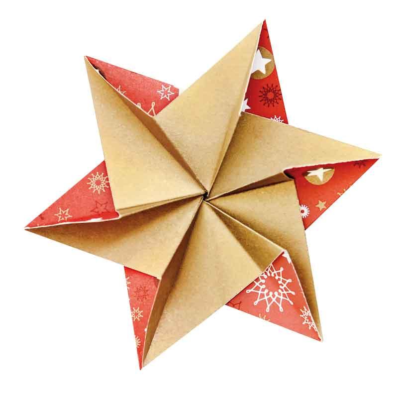 BRAUN Schulbedarf -  Papier Falten ,Scheiden, kleben - Basteln zu Weihnachten