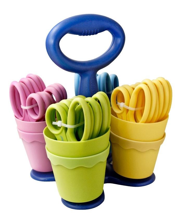 BRAUN Schulbedarf - Für Schule und Kindergarten - Hygieneschutz Scheren