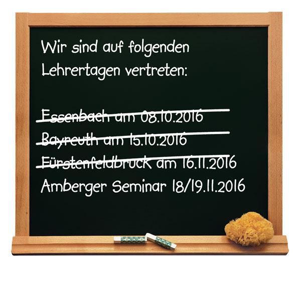 Lehertage Bayern Braun Schulbedarf