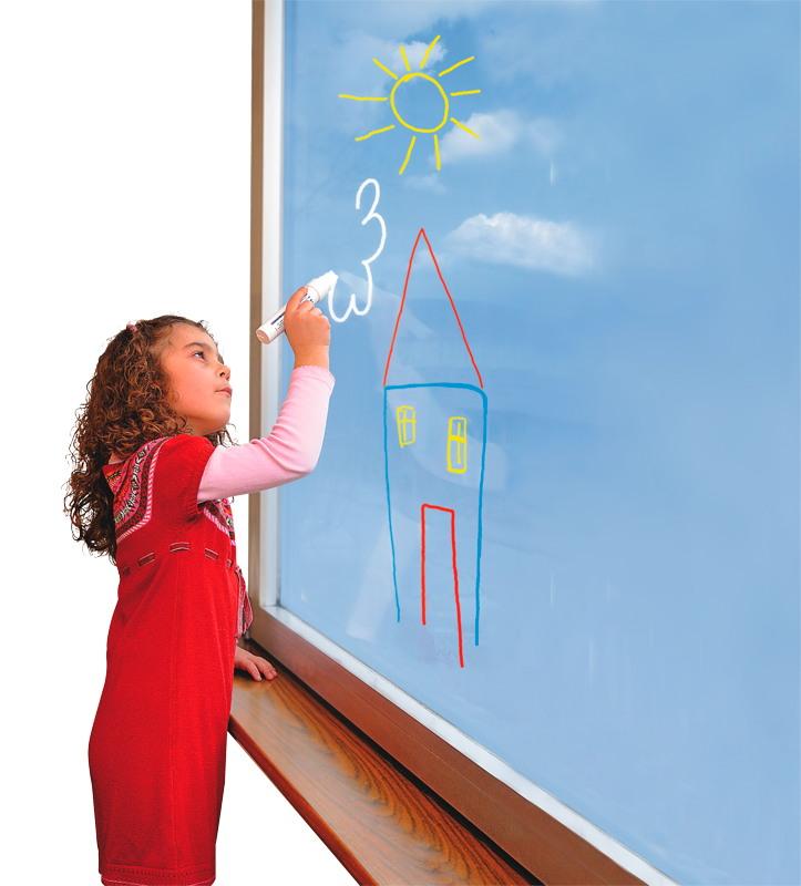 BRAUN Schulbedarf - Für Schule und Kindergarten - Fenstermalkreide zum Malen