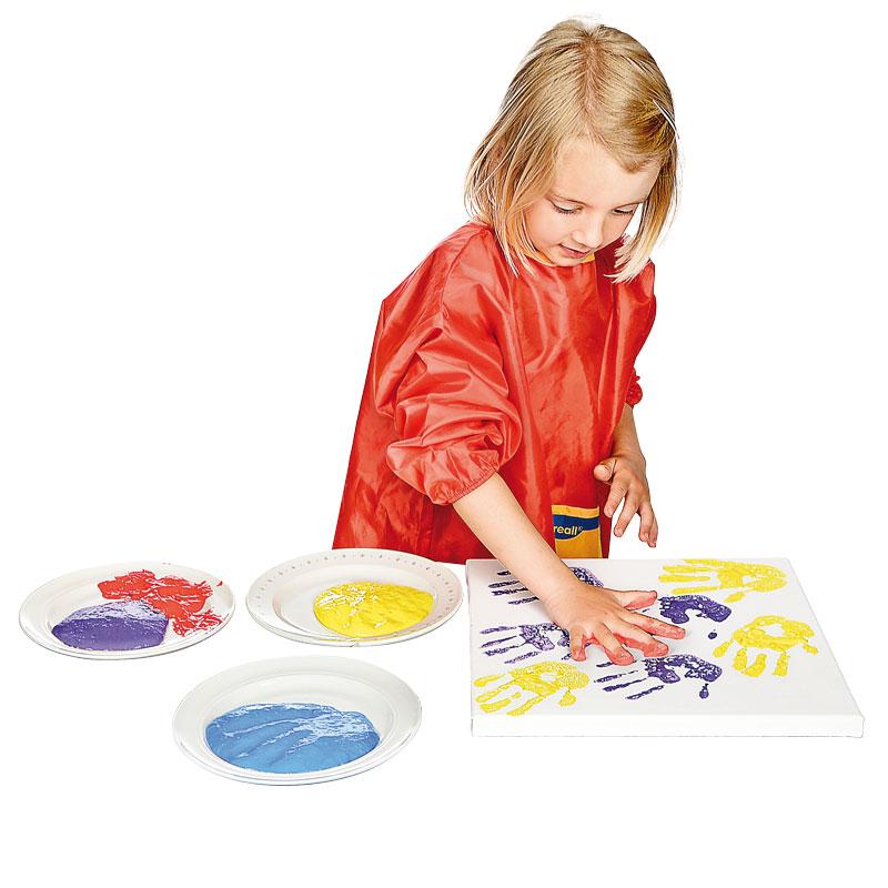 BRAUN Schulbedarf - Für Schule und Kindergarten - Fingerfarben zum Malen