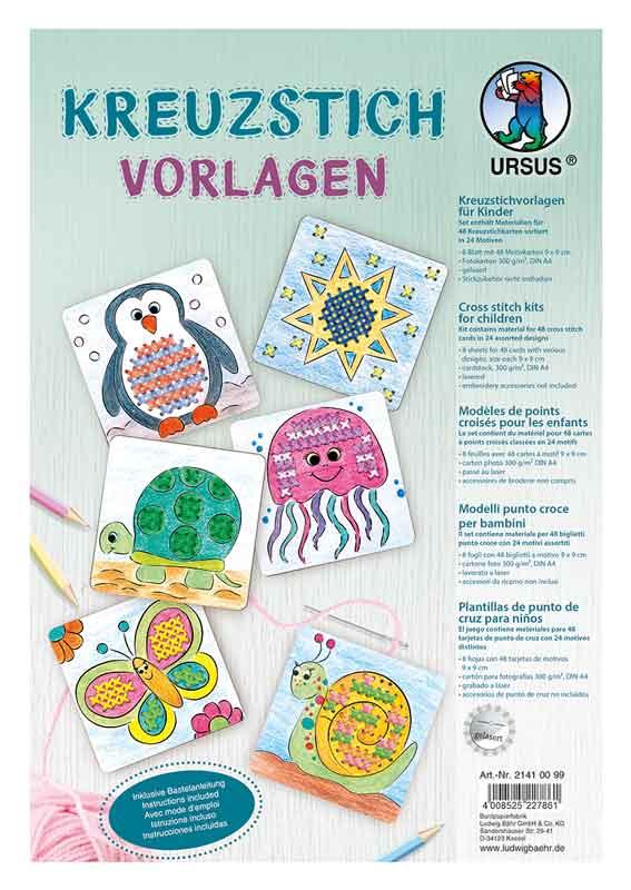 BRAUN Schulbedarf - Für Schule und Kindergarten - Textiles Gestalten sticken