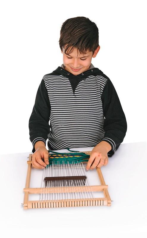 BRAUN Schulbedarf - Für Schule und Kindergarten - Weben - Textiles Gestalten