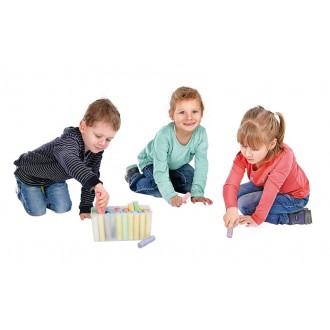 BRAUN Schulbedarf - Für Schule und Kindergarten - Bastelbedarf Straßenmalkreide