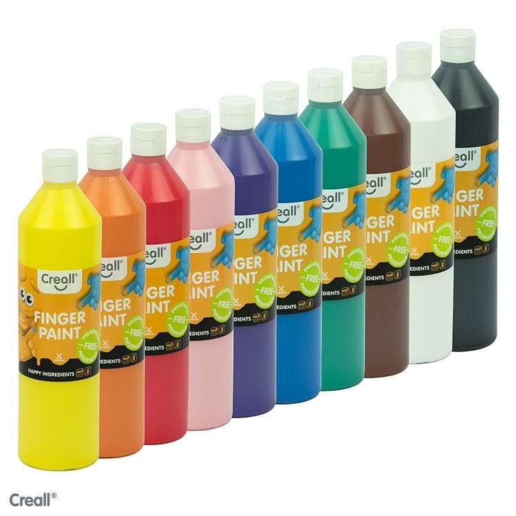 Fingerfarbe - Kindergarten, Kita, Schule