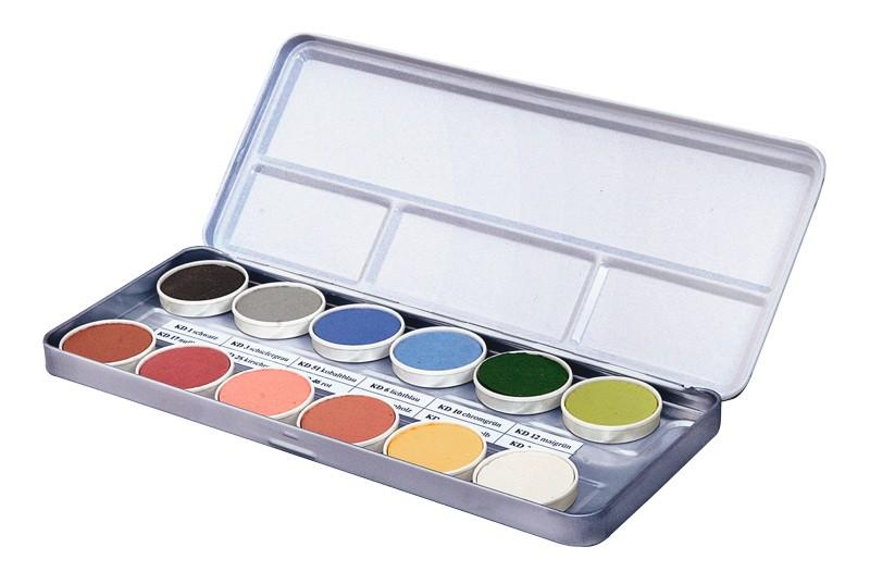BRAUN Schulbedarf - Für Schule und Kindergarten -  Unterglasur Farben Dekorfarben