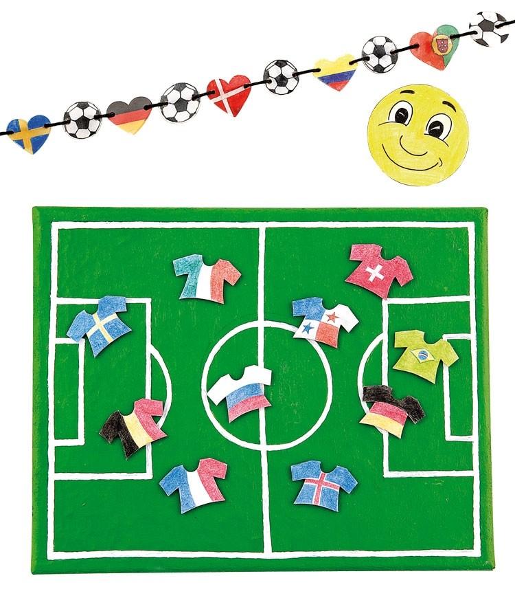 Textiles Gestalten Schule und Kindergarten - Fußball