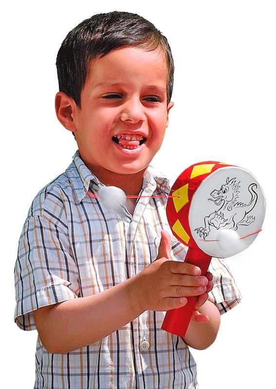 BRAUN Schulbedarf - Für Schule und Kindergarten - Anleitung Handtrommel Drache