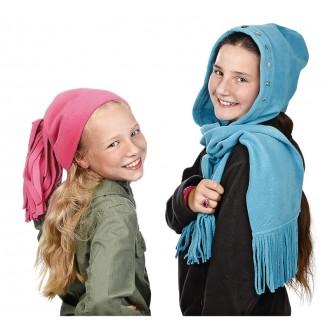 BRAUN Schulbedarf - Für Schule und Kindergarten - Anleitung Schalmütze nähen