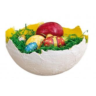 BRAUN Schulbedarf - Anleitung Körbchen aus Gips basteln zu Ostern