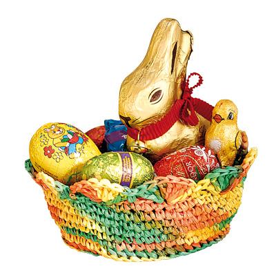 BRAUN Schulbedarf - Anleitung Bastkörbchen häkeln zu Ostern