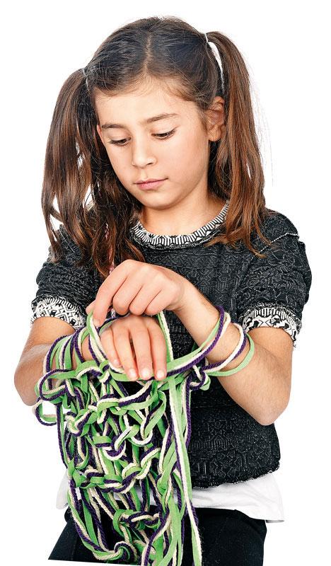 BRAUN Schulbedarf - Für Schule und Kindergarten - Anleitung zum Armstricken