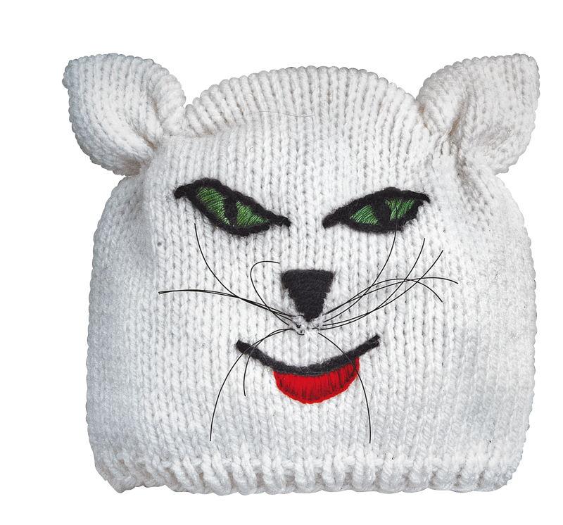 BRAUN Schulbedarf - Für Schule und Kindergarten - Mütze stricken Katze