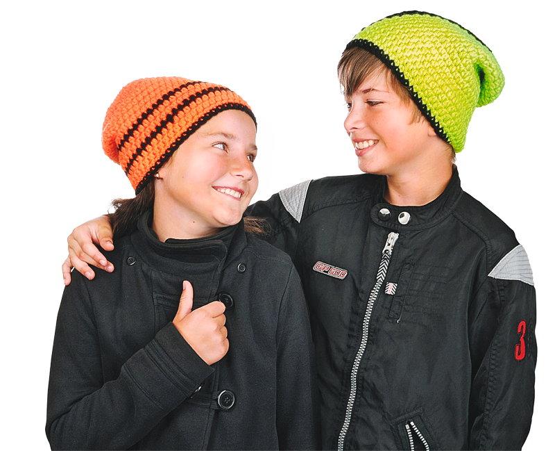 BRAUN Schulbedarf - Für Schule und Kindergarten - Neon Mütze häkeln