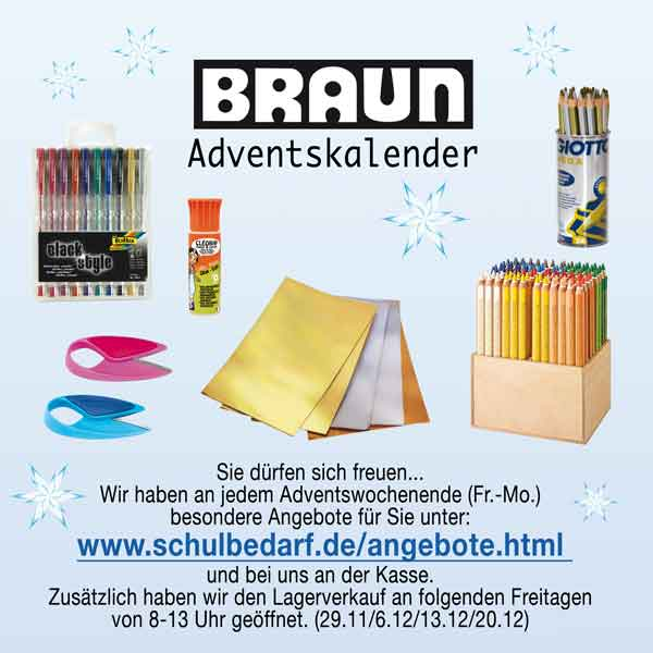 BRAUN-Adventskalender